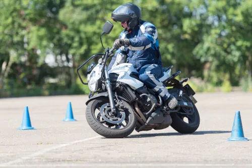 Motorrijbewijspoint Rijswijk motor rijtest